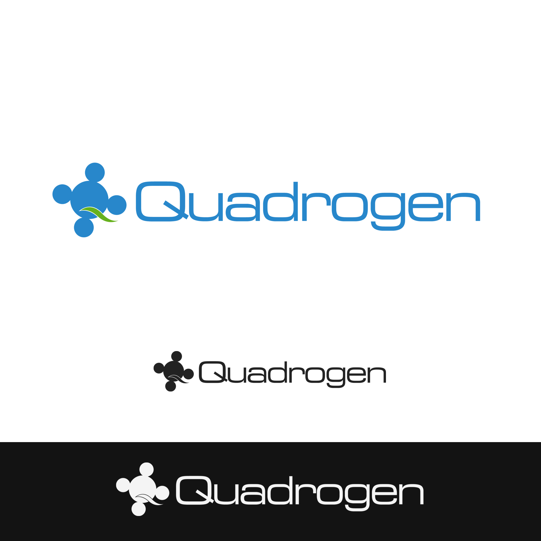 Logo Design by omARTist - Entry No. 161 in the Logo Design Contest New Logo Design for Quadrogen Power Systems, Inc.