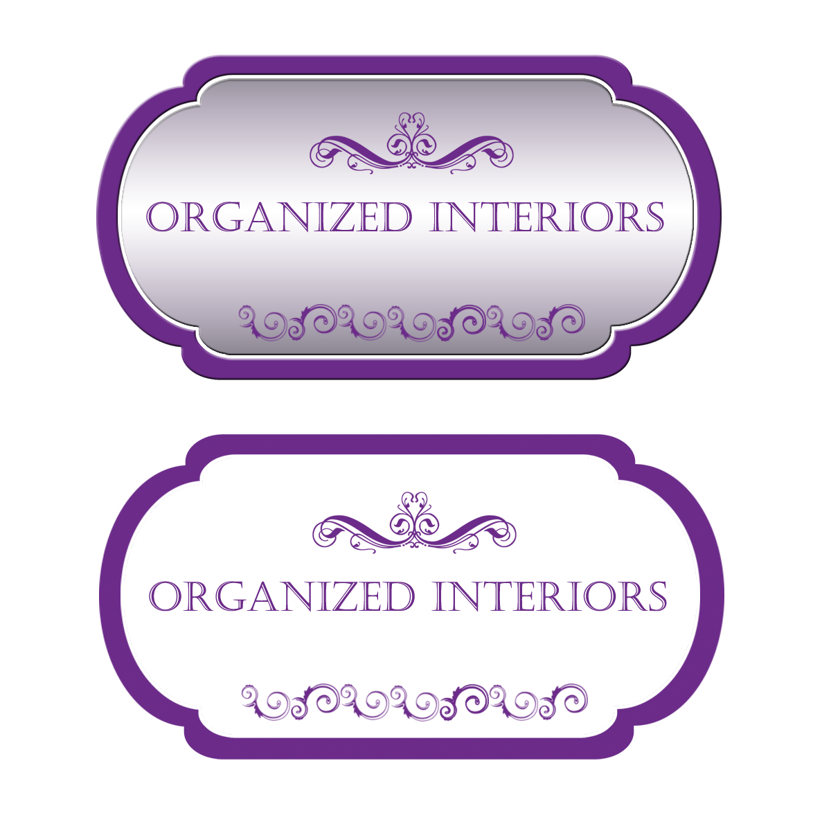 Logo Design by Private User - Entry No. 67 in the Logo Design Contest Imaginative Logo Design for Organized Interiors.