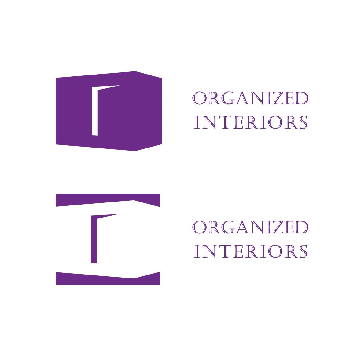 Logo Design by Private User - Entry No. 71 in the Logo Design Contest Imaginative Logo Design for Organized Interiors.
