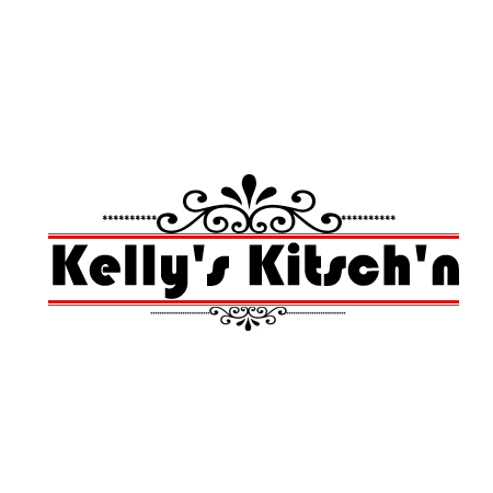 Logo Design by Crystal Desizns - Entry No. 60 in the Logo Design Contest Unique Logo Design Wanted for Kelly's Kitsch'n.