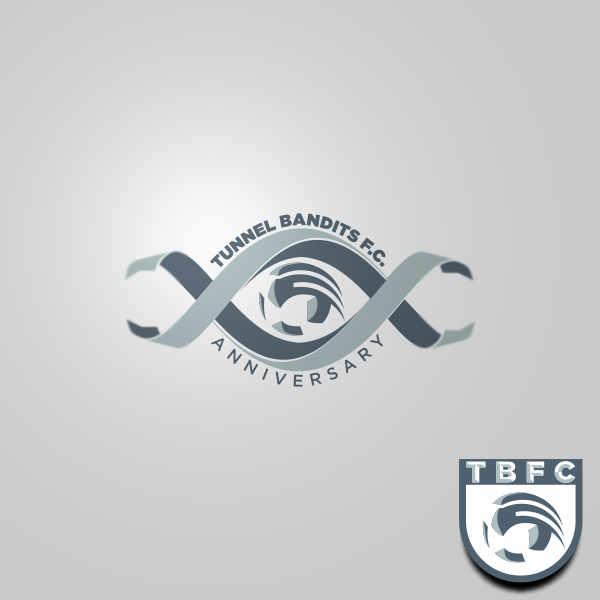 Logo Design by Private User - Entry No. 14 in the Logo Design Contest Tunnel Bandits Football Club (TBFC) Logo Design.