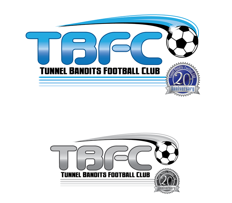 Logo Design by robken0174 - Entry No. 16 in the Logo Design Contest Tunnel Bandits Football Club (TBFC) Logo Design.