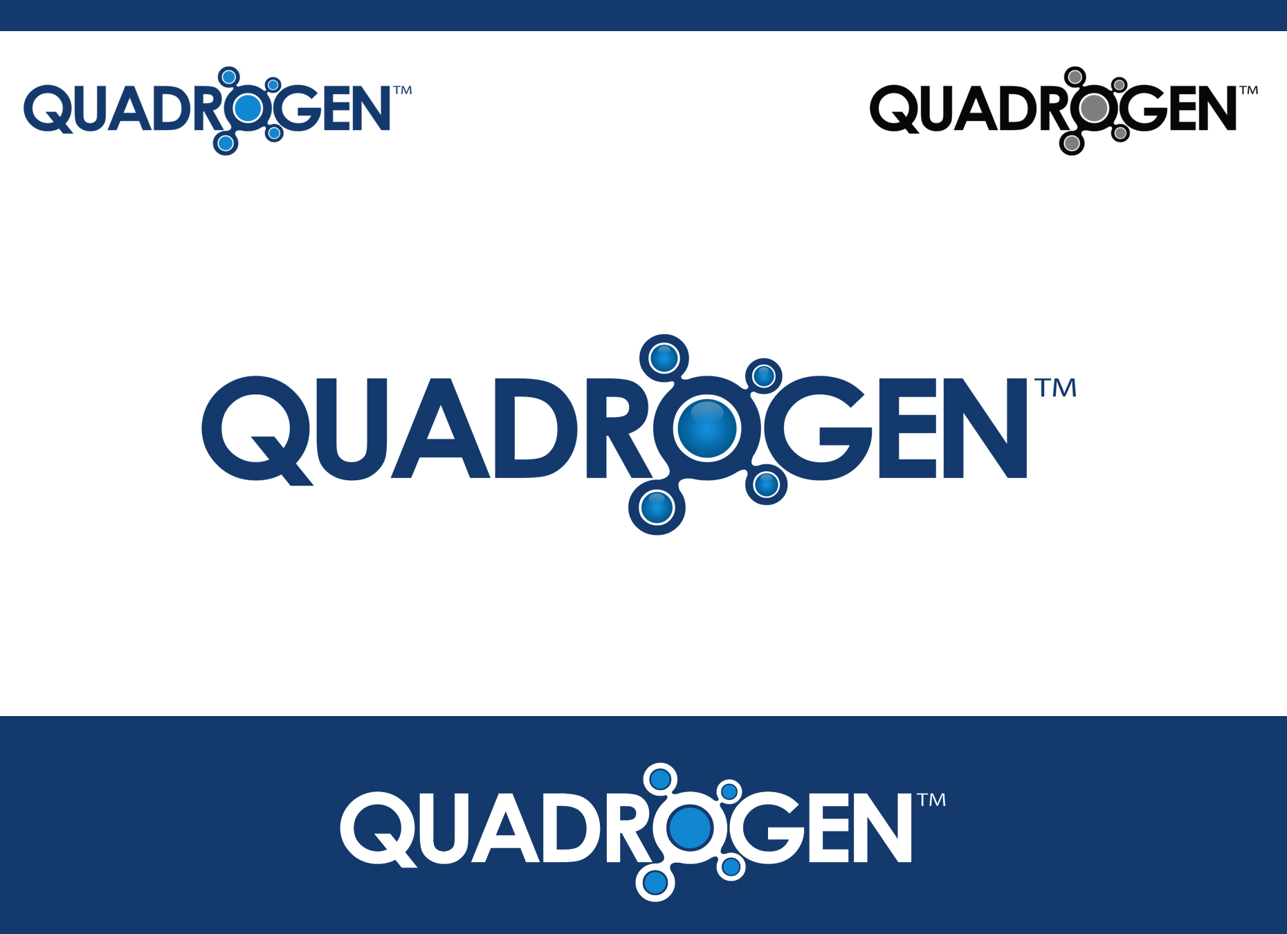 Logo Design by omARTist - Entry No. 164 in the Logo Design Contest New Logo Design for Quadrogen Power Systems, Inc.