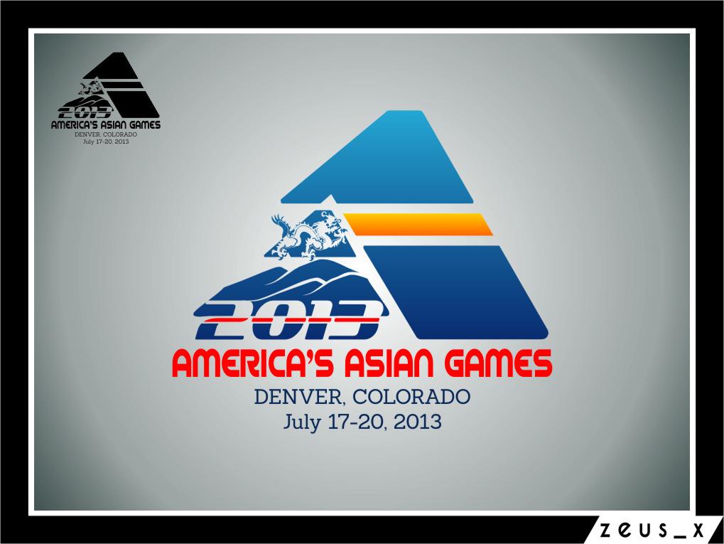 Logo Design by RasYa Muhammad Athaya - Entry No. 39 in the Logo Design Contest New Logo Design for America's Asian Games.