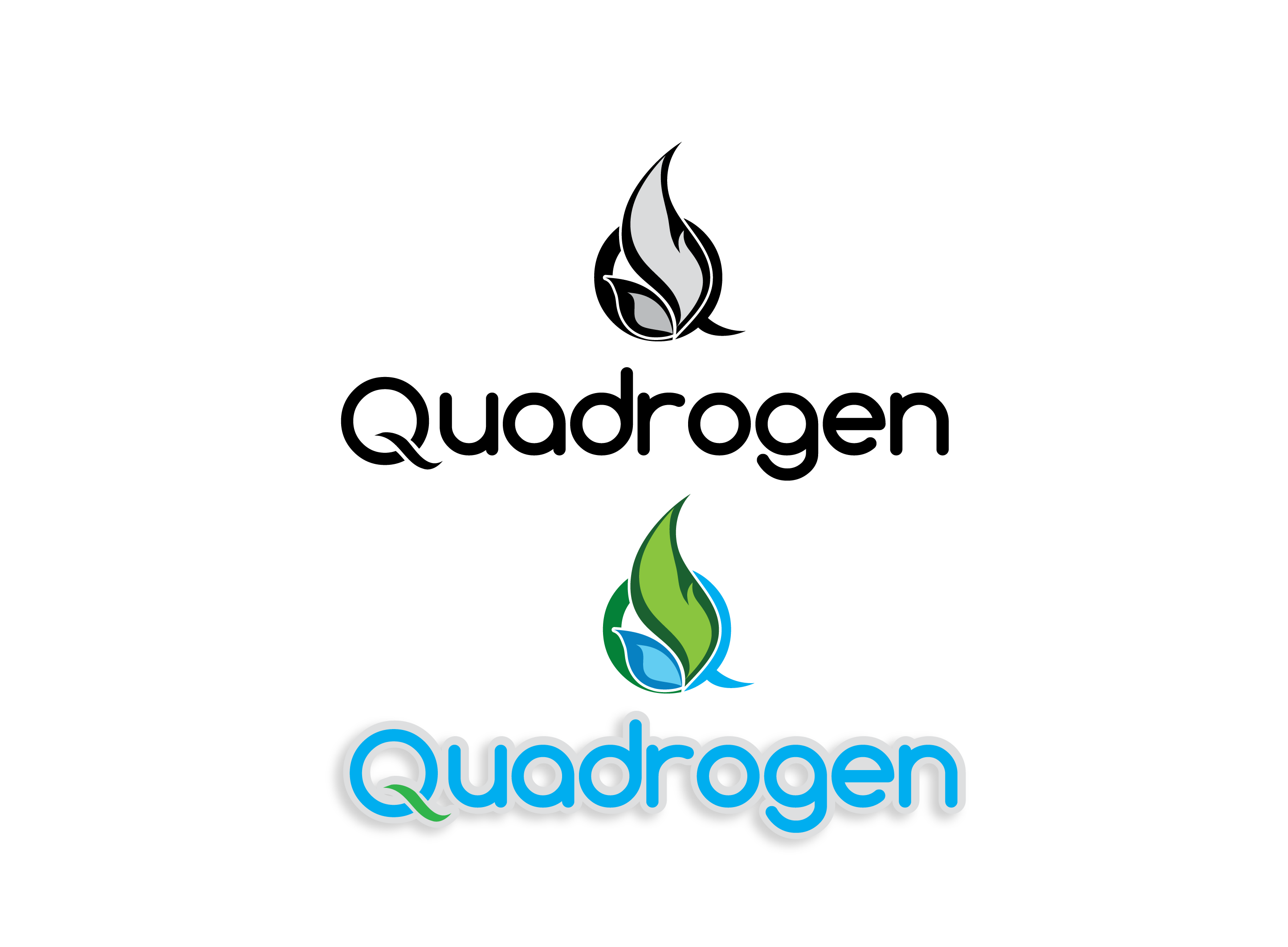 Logo Design by 354studio - Entry No. 168 in the Logo Design Contest New Logo Design for Quadrogen Power Systems, Inc.