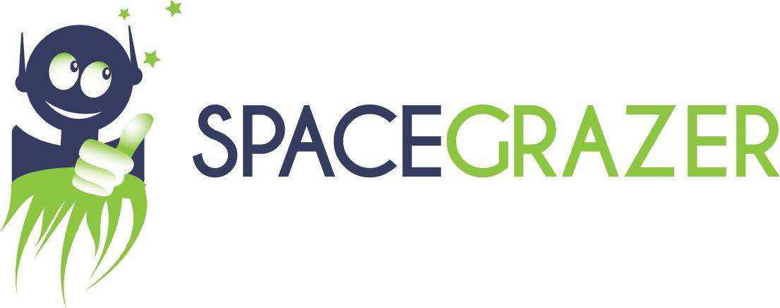 Logo Design by Agnes Bak - Entry No. 44 in the Logo Design Contest Fun Logo Design for Spacegrazer.