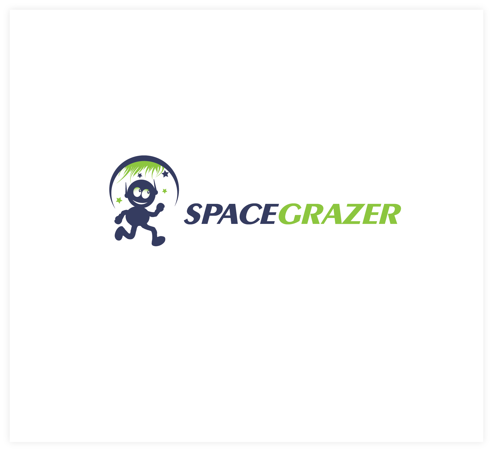Logo Design by Agnes Bak - Entry No. 46 in the Logo Design Contest Fun Logo Design for Spacegrazer.