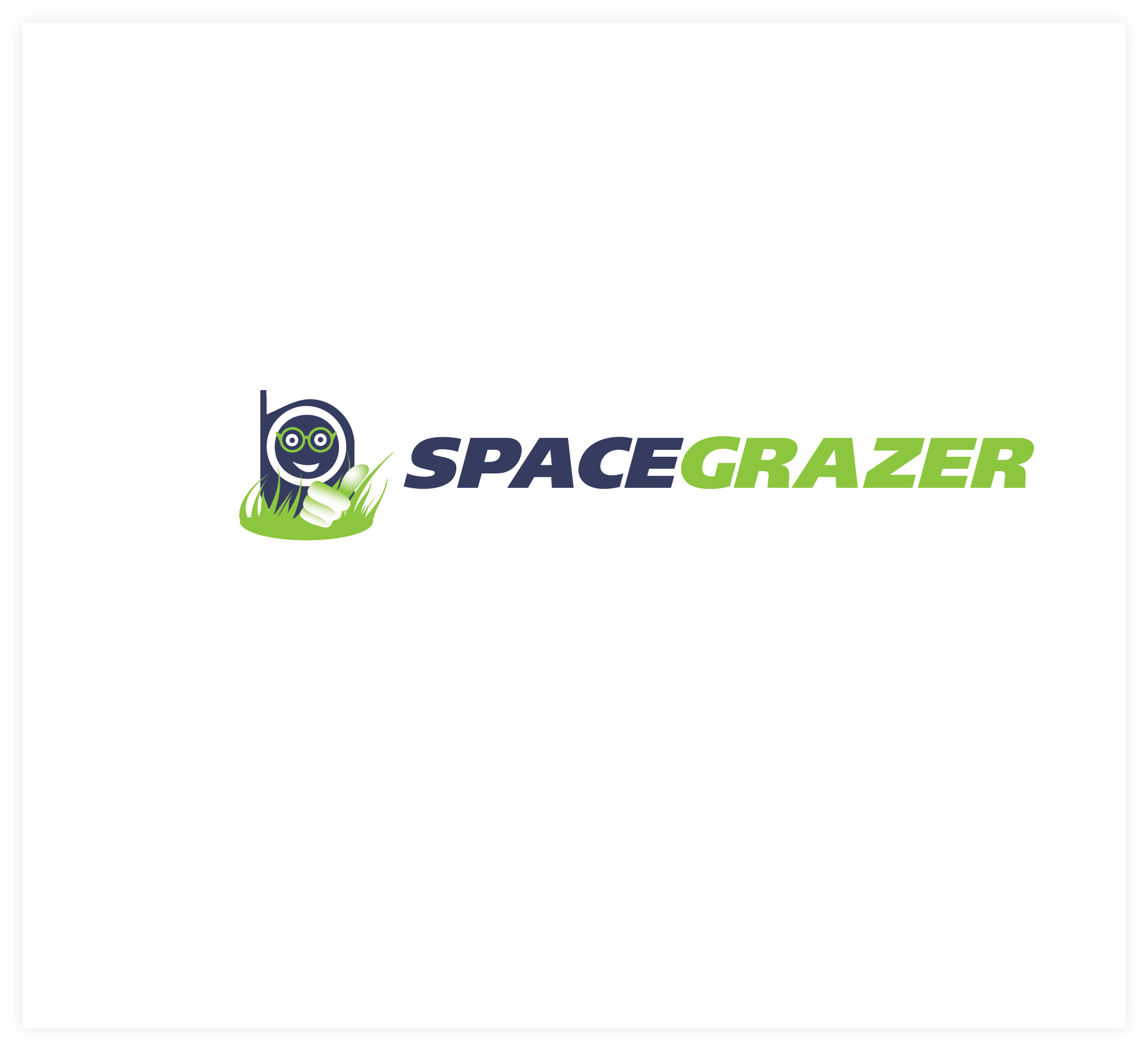 Logo Design by Agnes Bak - Entry No. 47 in the Logo Design Contest Fun Logo Design for Spacegrazer.