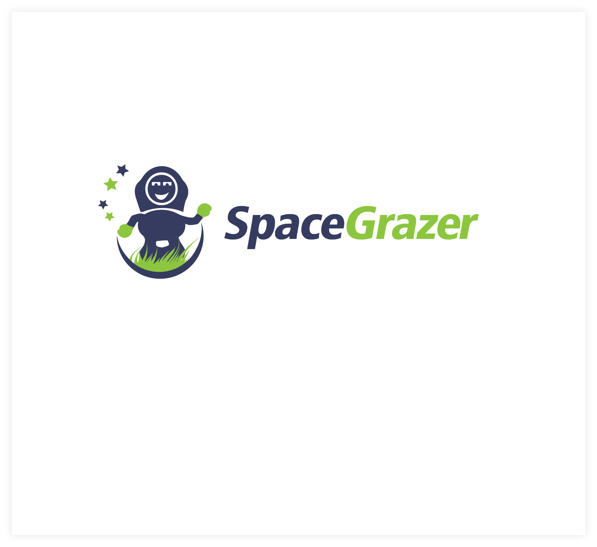 Logo Design by Agnes Bak - Entry No. 48 in the Logo Design Contest Fun Logo Design for Spacegrazer.