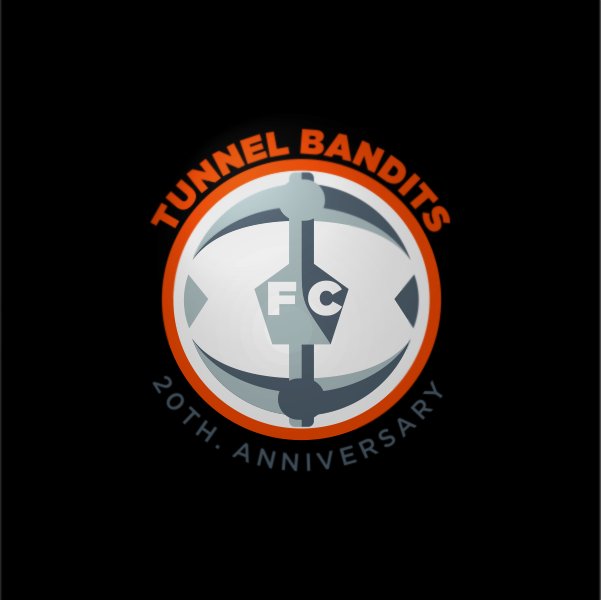 Logo Design by Private User - Entry No. 17 in the Logo Design Contest Tunnel Bandits Football Club (TBFC) Logo Design.