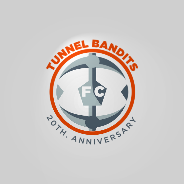 Logo Design by Private User - Entry No. 18 in the Logo Design Contest Tunnel Bandits Football Club (TBFC) Logo Design.