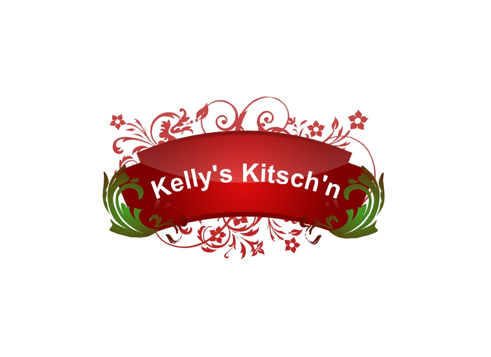 Logo Design by Tenstar Design - Entry No. 66 in the Logo Design Contest Unique Logo Design Wanted for Kelly's Kitsch'n.