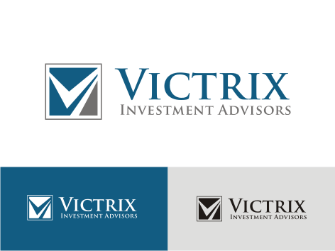 Logo Design by key - Entry No. 75 in the Logo Design Contest Inspiring Logo Design for Victrix Investment Advisors.