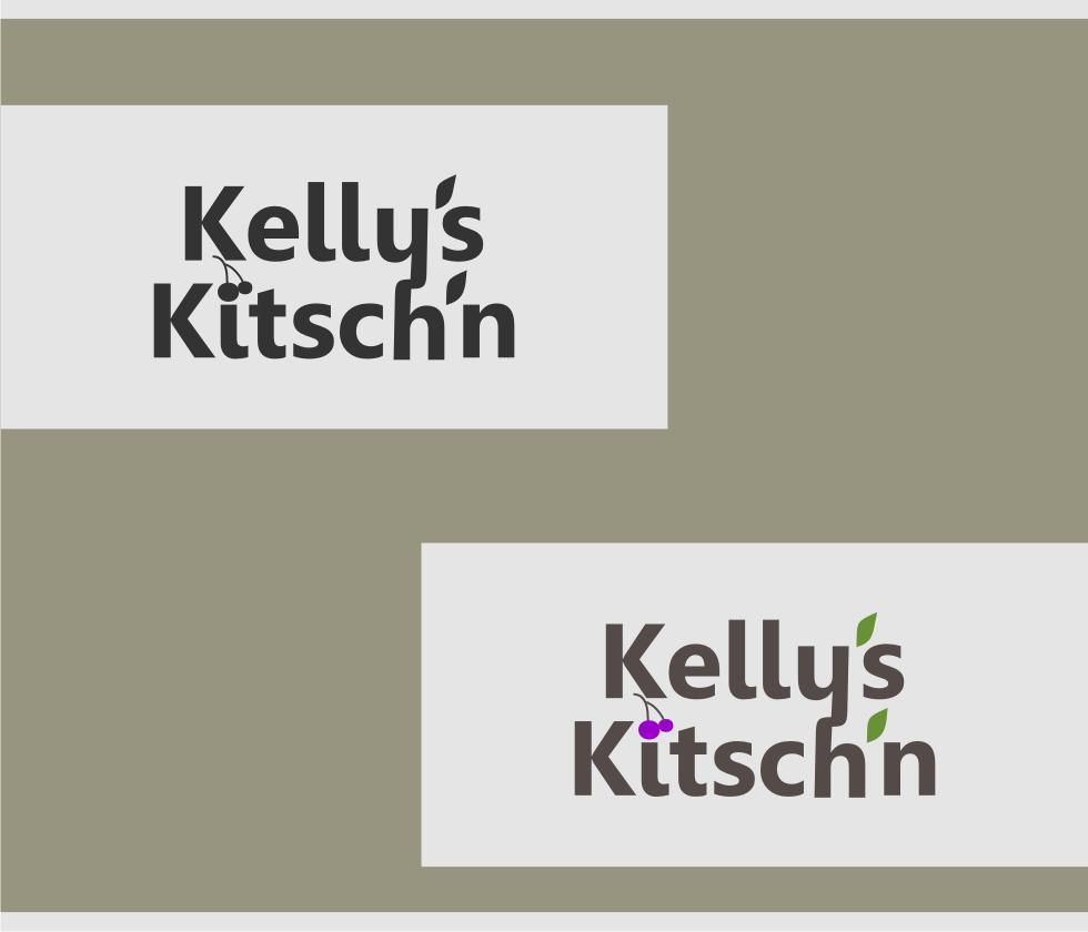Logo Design by Muhammad Nasrul chasib - Entry No. 68 in the Logo Design Contest Unique Logo Design Wanted for Kelly's Kitsch'n.