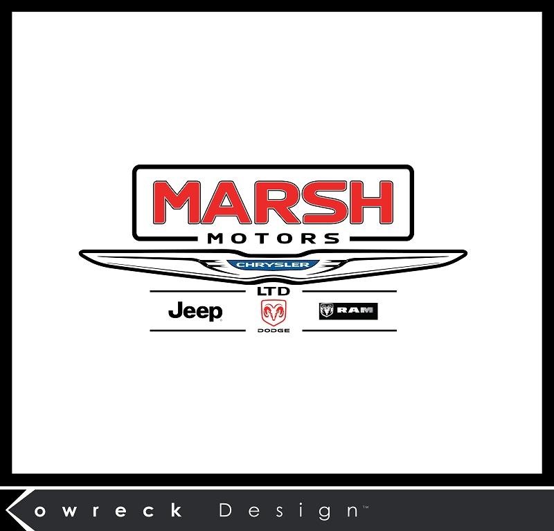 Logo Design by kowreck - Entry No. 17 in the Logo Design Contest Marsh Motors Chrysler Logo Design.