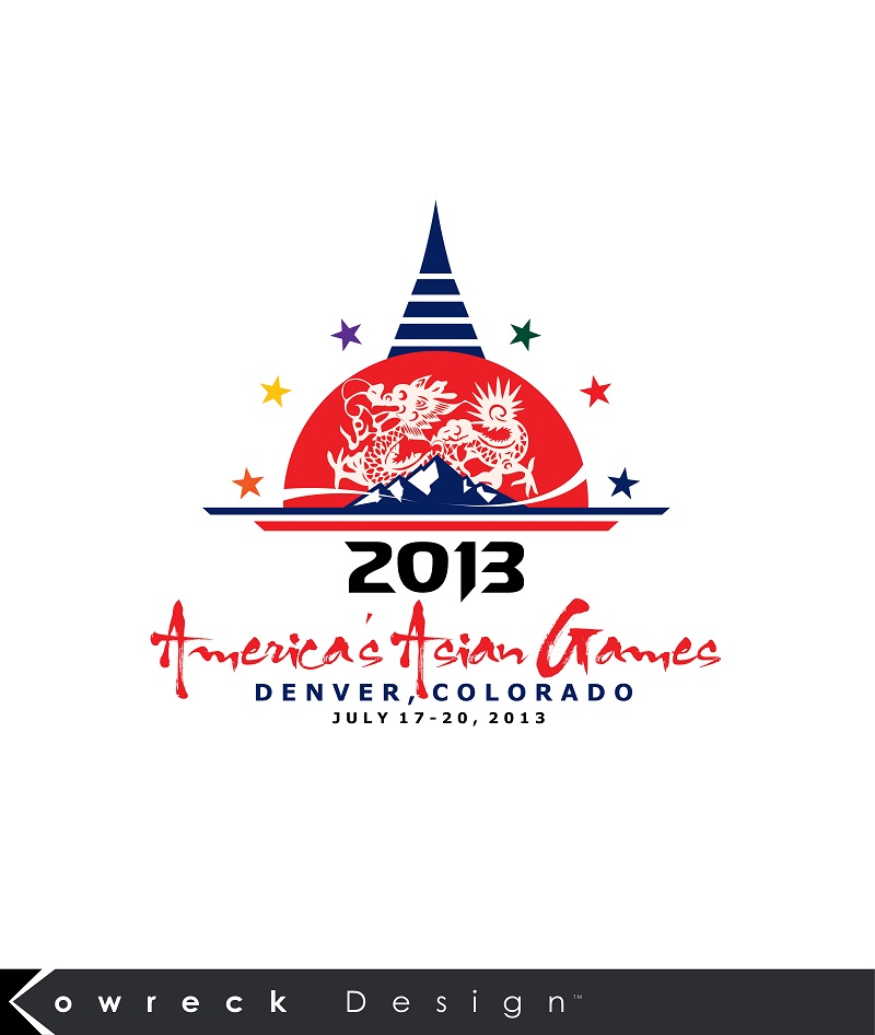 Logo Design by kowreck - Entry No. 41 in the Logo Design Contest New Logo Design for America's Asian Games.