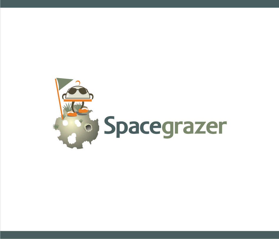 Logo Design by graphicleaf - Entry No. 56 in the Logo Design Contest Fun Logo Design for Spacegrazer.