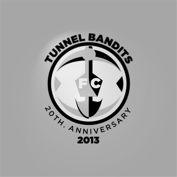 Logo Design by Private User - Entry No. 19 in the Logo Design Contest Tunnel Bandits Football Club (TBFC) Logo Design.