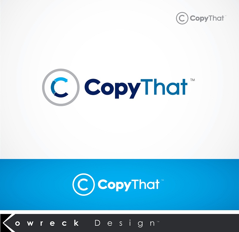 Logo Design by kowreck - Entry No. 2 in the Logo Design Contest Inspiring Logo Design for CopyThat.