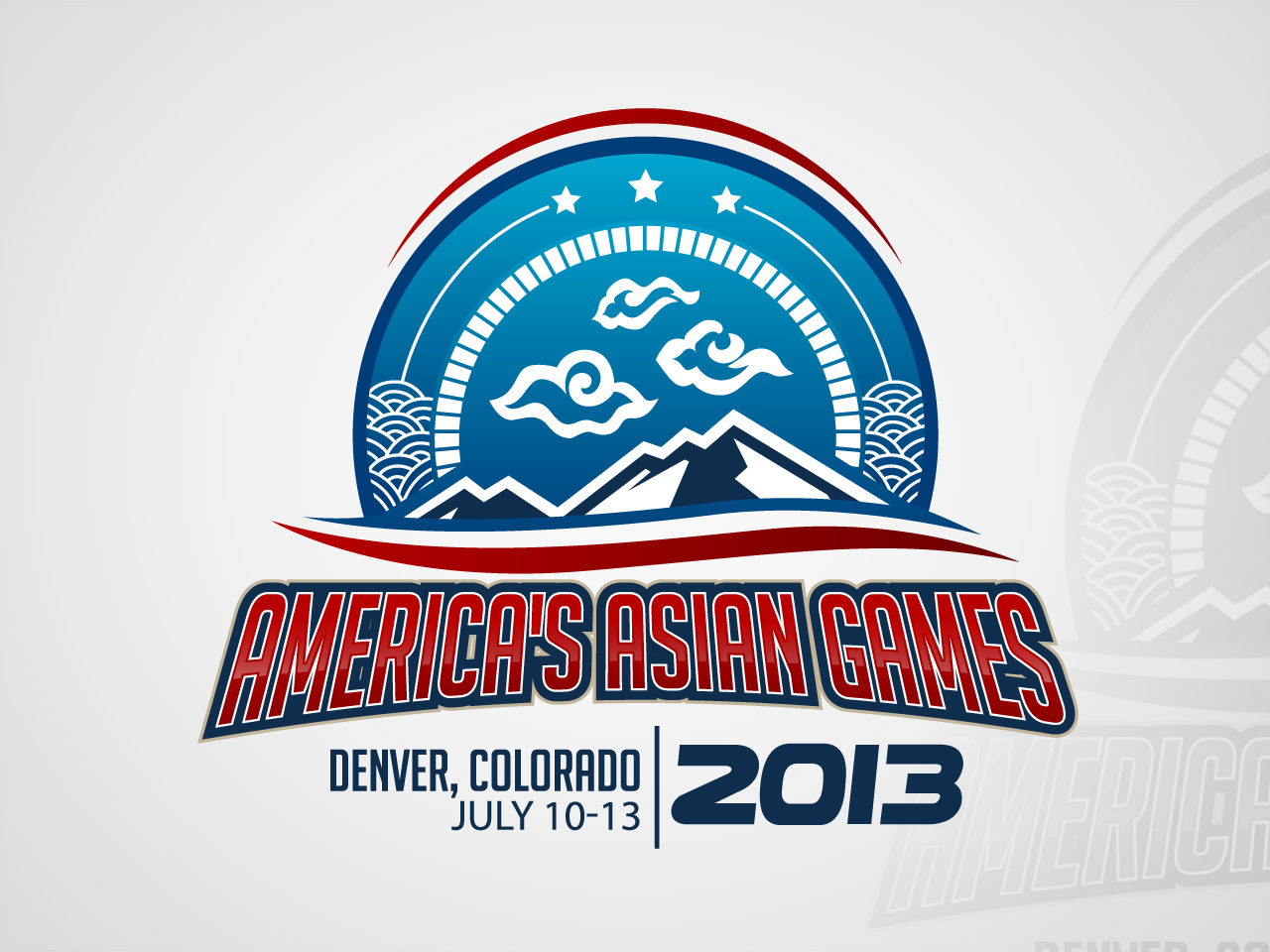 Logo Design by jpbituin - Entry No. 44 in the Logo Design Contest New Logo Design for America's Asian Games.