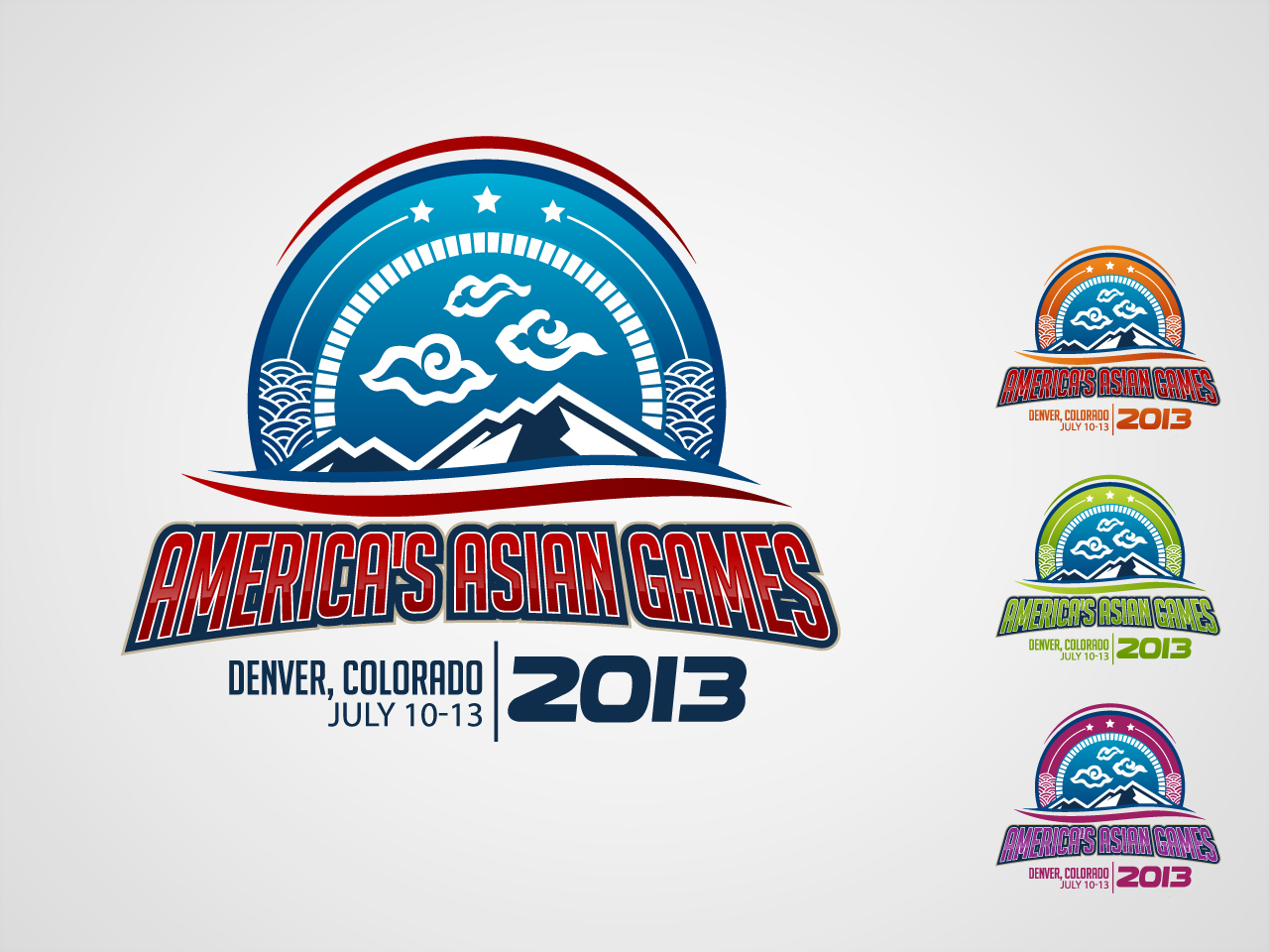 Logo Design by jpbituin - Entry No. 45 in the Logo Design Contest New Logo Design for America's Asian Games.