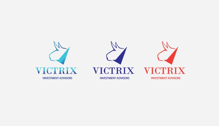 Logo Design by Private User - Entry No. 78 in the Logo Design Contest Inspiring Logo Design for Victrix Investment Advisors.