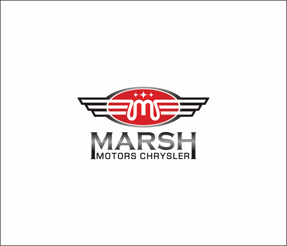 Logo Design by Armada Jamaluddin - Entry No. 20 in the Logo Design Contest Marsh Motors Chrysler Logo Design.