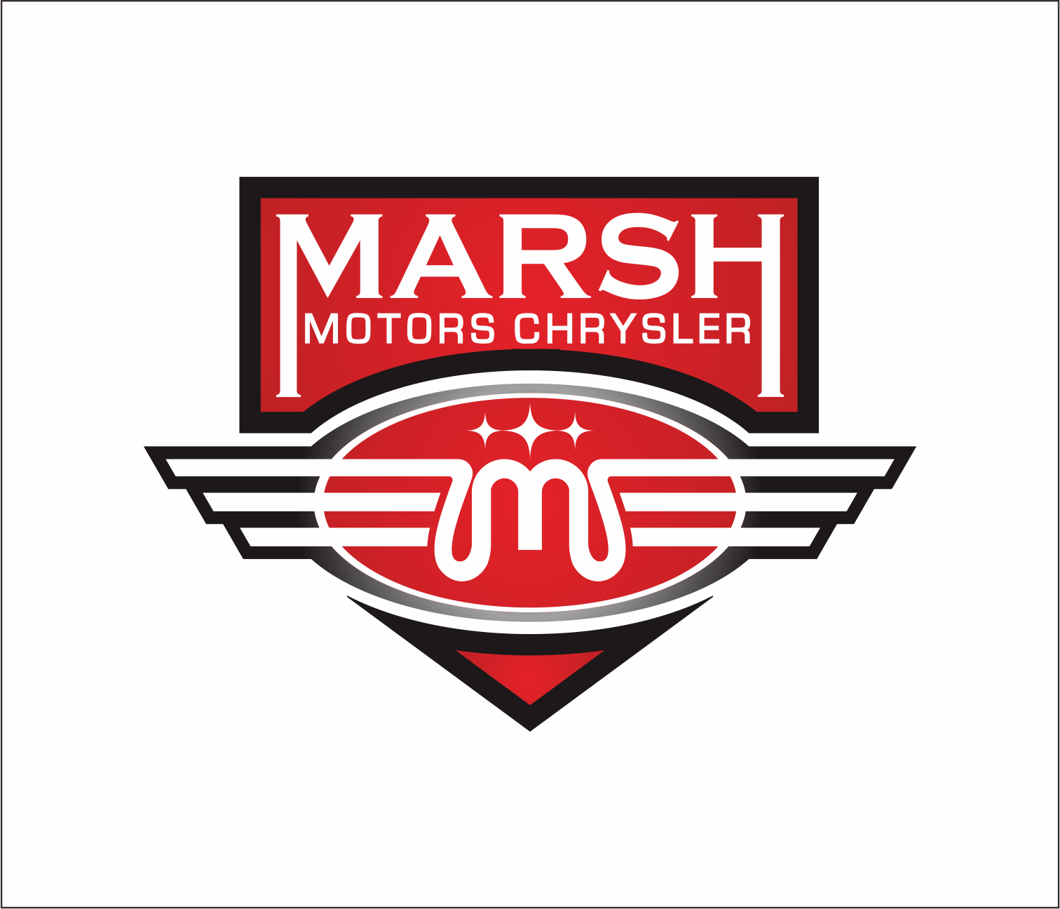 Logo Design by Armada Jamaluddin - Entry No. 21 in the Logo Design Contest Marsh Motors Chrysler Logo Design.