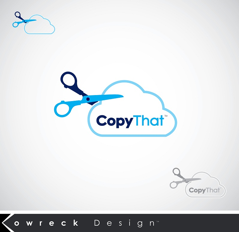 Logo Design by kowreck - Entry No. 7 in the Logo Design Contest Inspiring Logo Design for CopyThat.