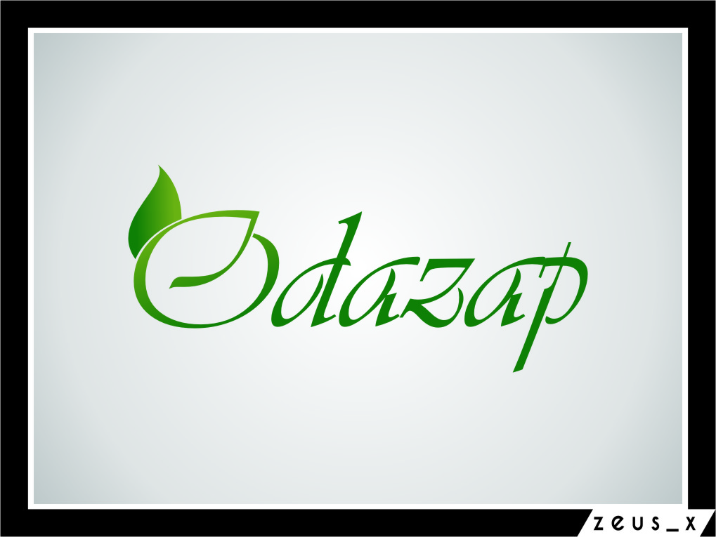 Logo Design by RasYa Muhammad Athaya - Entry No. 17 in the Logo Design Contest New Logo Design for ODAZAP.