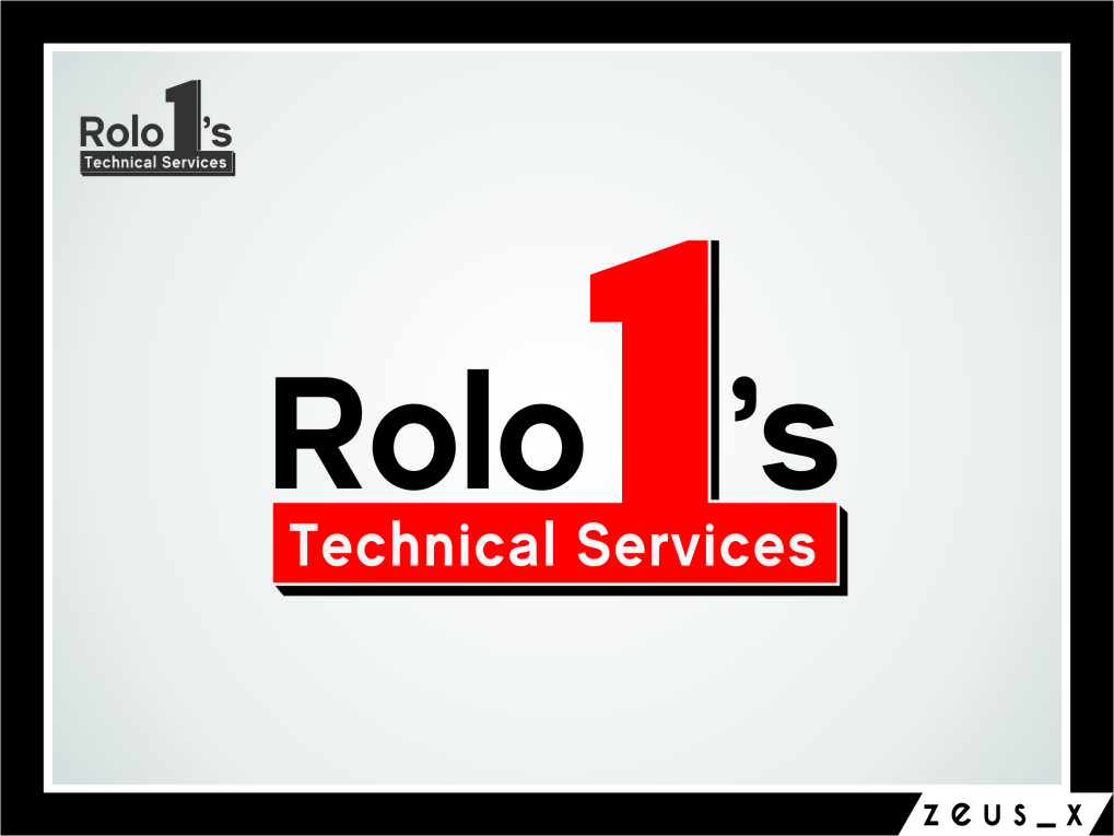 Logo Design by Ngepet_art - Entry No. 1 in the Logo Design Contest Inspiring Logo Design for Rolo1's Technical Services.