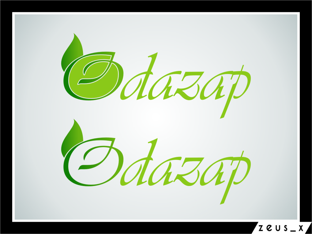 Logo Design by Ngepet_art - Entry No. 19 in the Logo Design Contest New Logo Design for ODAZAP.