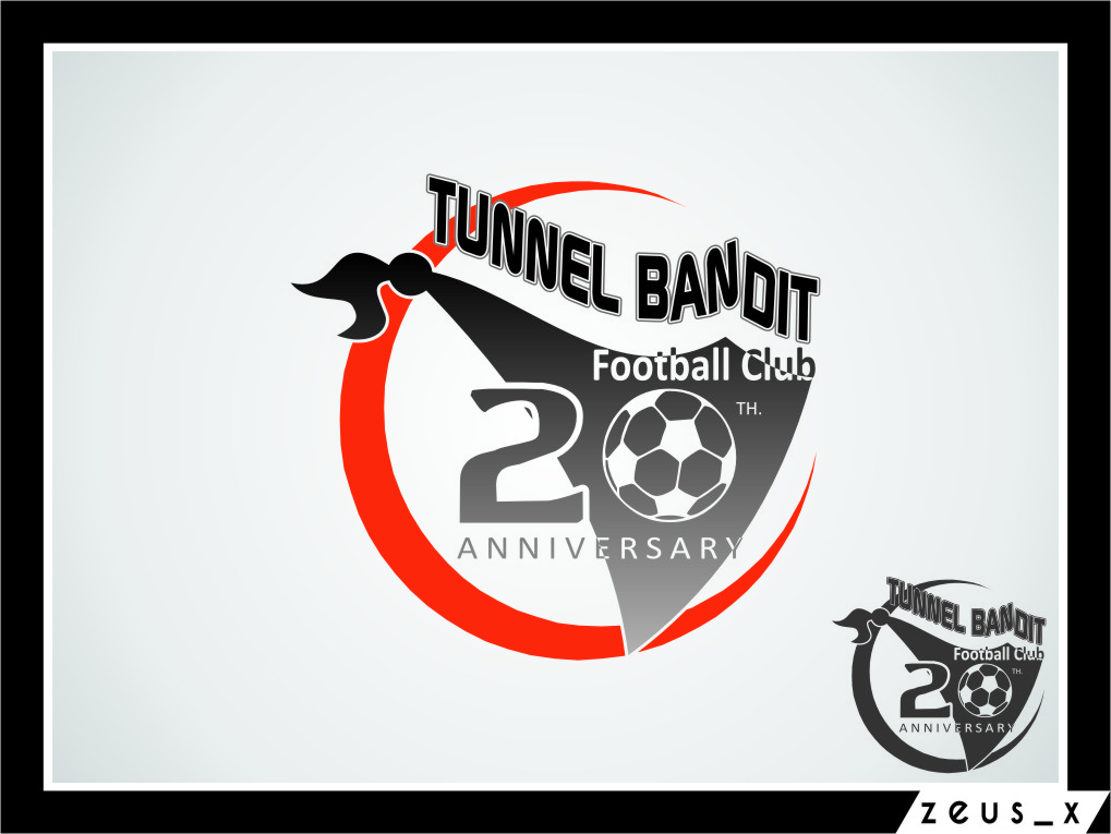 Logo Design by RoSyid Rono-Rene On Java - Entry No. 24 in the Logo Design Contest Tunnel Bandits Football Club (TBFC) Logo Design.