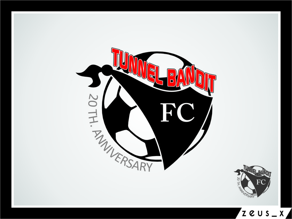 Logo Design by Ngepet_art - Entry No. 26 in the Logo Design Contest Tunnel Bandits Football Club (TBFC) Logo Design.