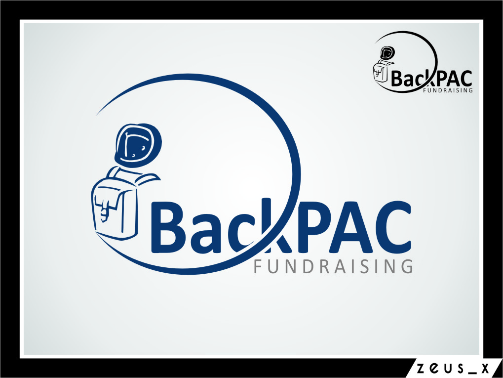Logo Design by RasYa Muhammad Athaya - Entry No. 1 in the Logo Design Contest Imaginative Logo Design for BackPAC Fundraising.