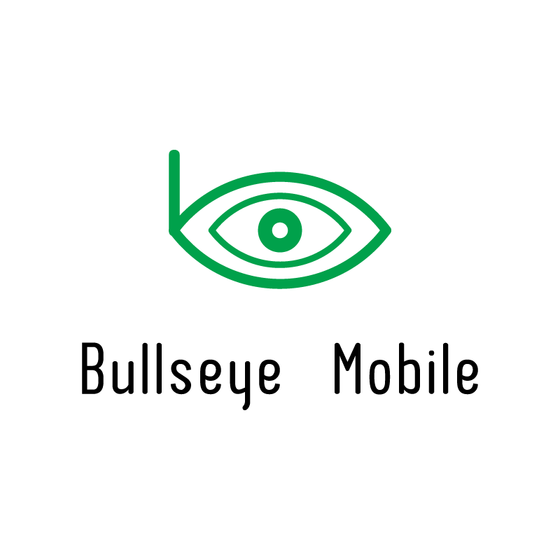Logo Design by rei - Entry No. 140 in the Logo Design Contest Bullseye Mobile.