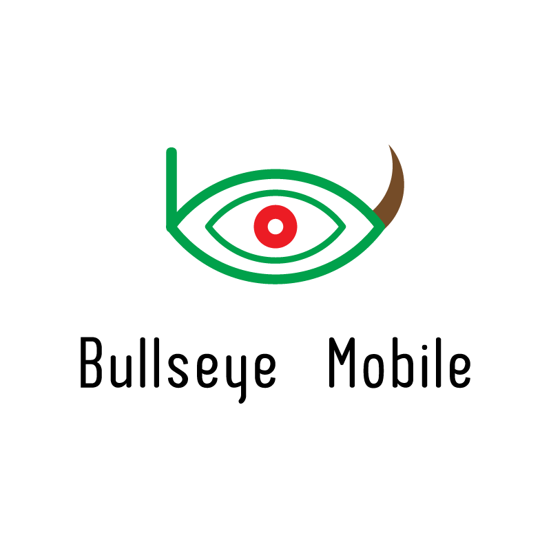 Logo Design by rei - Entry No. 141 in the Logo Design Contest Bullseye Mobile.