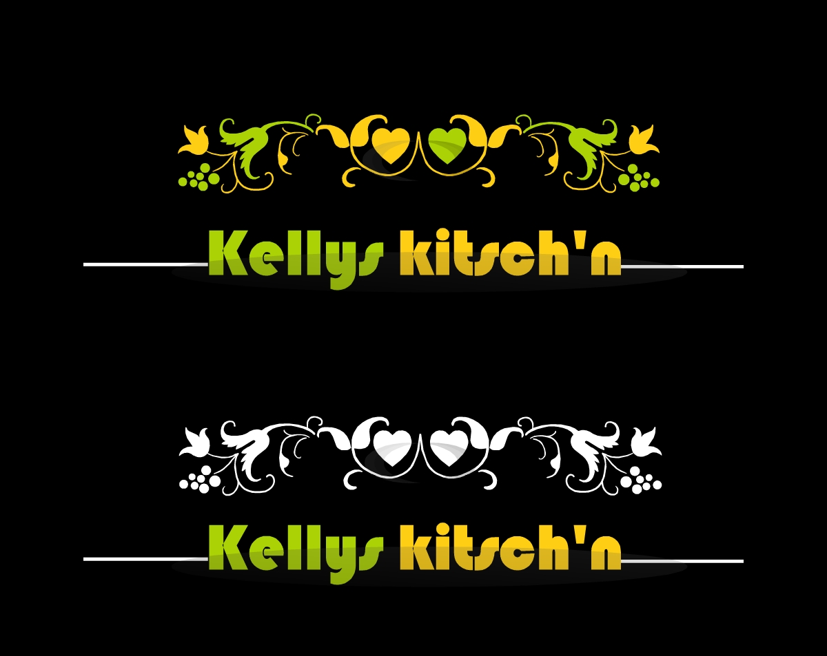 Logo Design by Oceanshark - Entry No. 74 in the Logo Design Contest Unique Logo Design Wanted for Kelly's Kitsch'n.