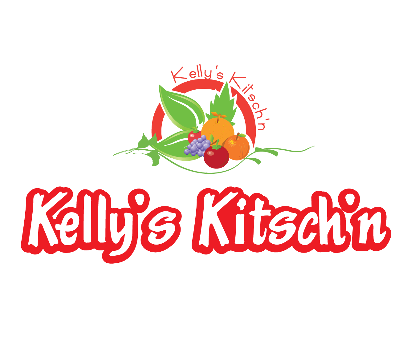 Logo Design by 354studio - Entry No. 76 in the Logo Design Contest Unique Logo Design Wanted for Kelly's Kitsch'n.