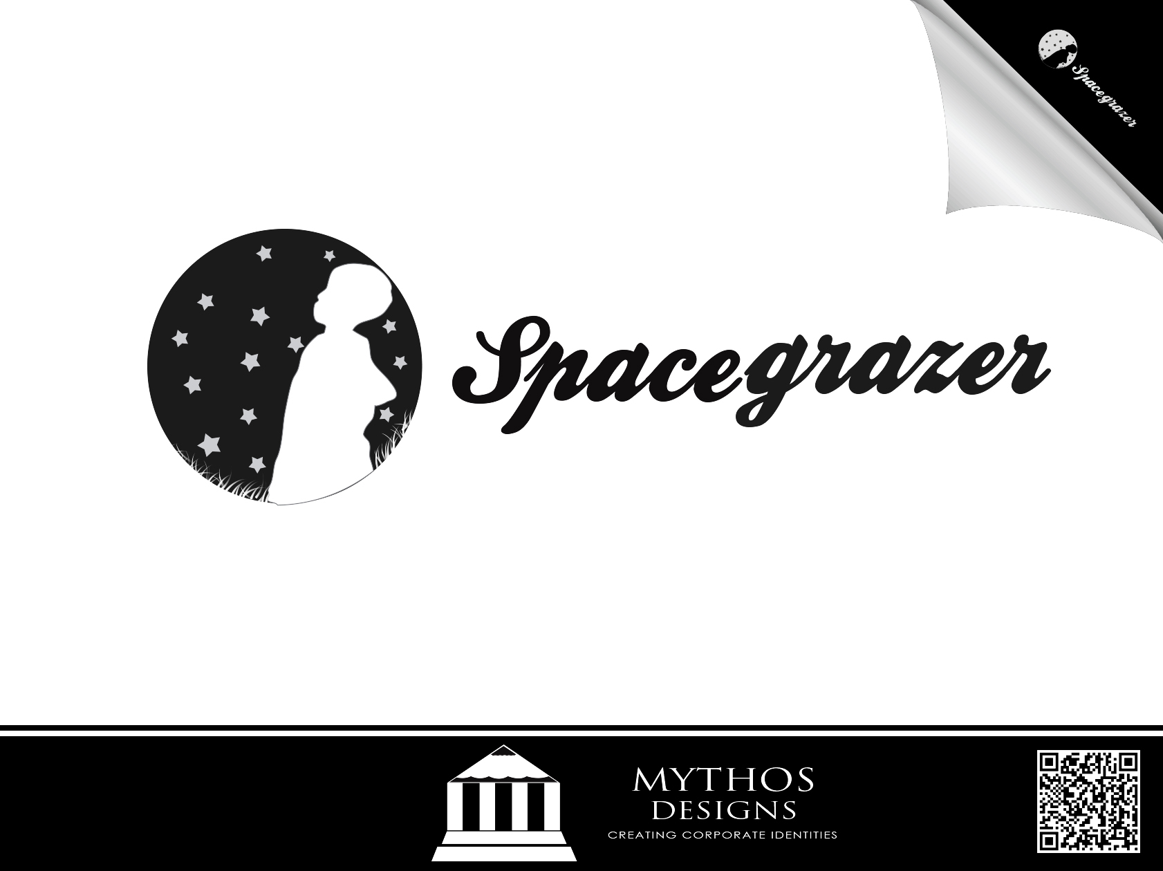 Logo Design by Mythos Designs - Entry No. 62 in the Logo Design Contest Fun Logo Design for Spacegrazer.