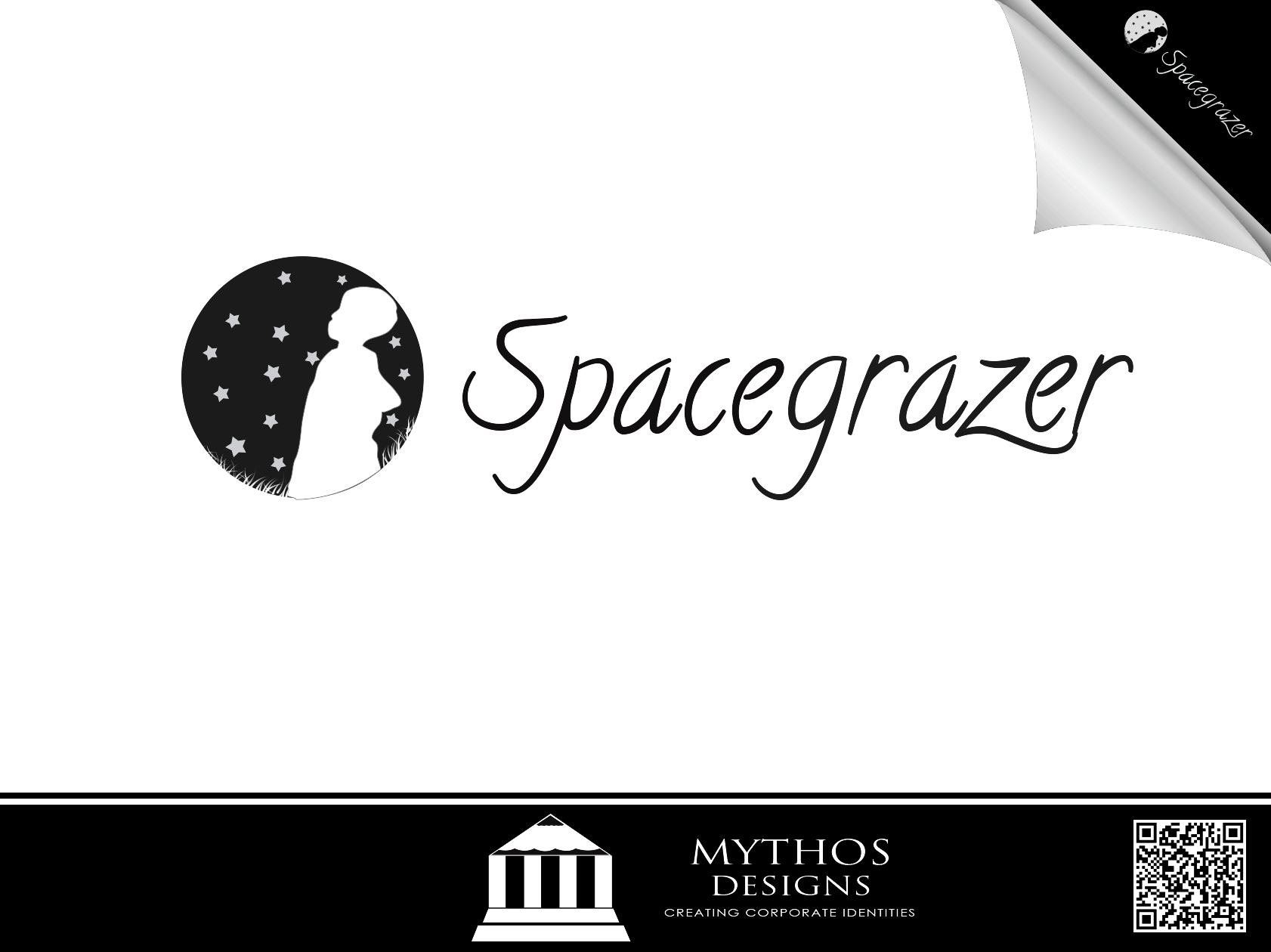 Logo Design by Mythos Designs - Entry No. 63 in the Logo Design Contest Fun Logo Design for Spacegrazer.
