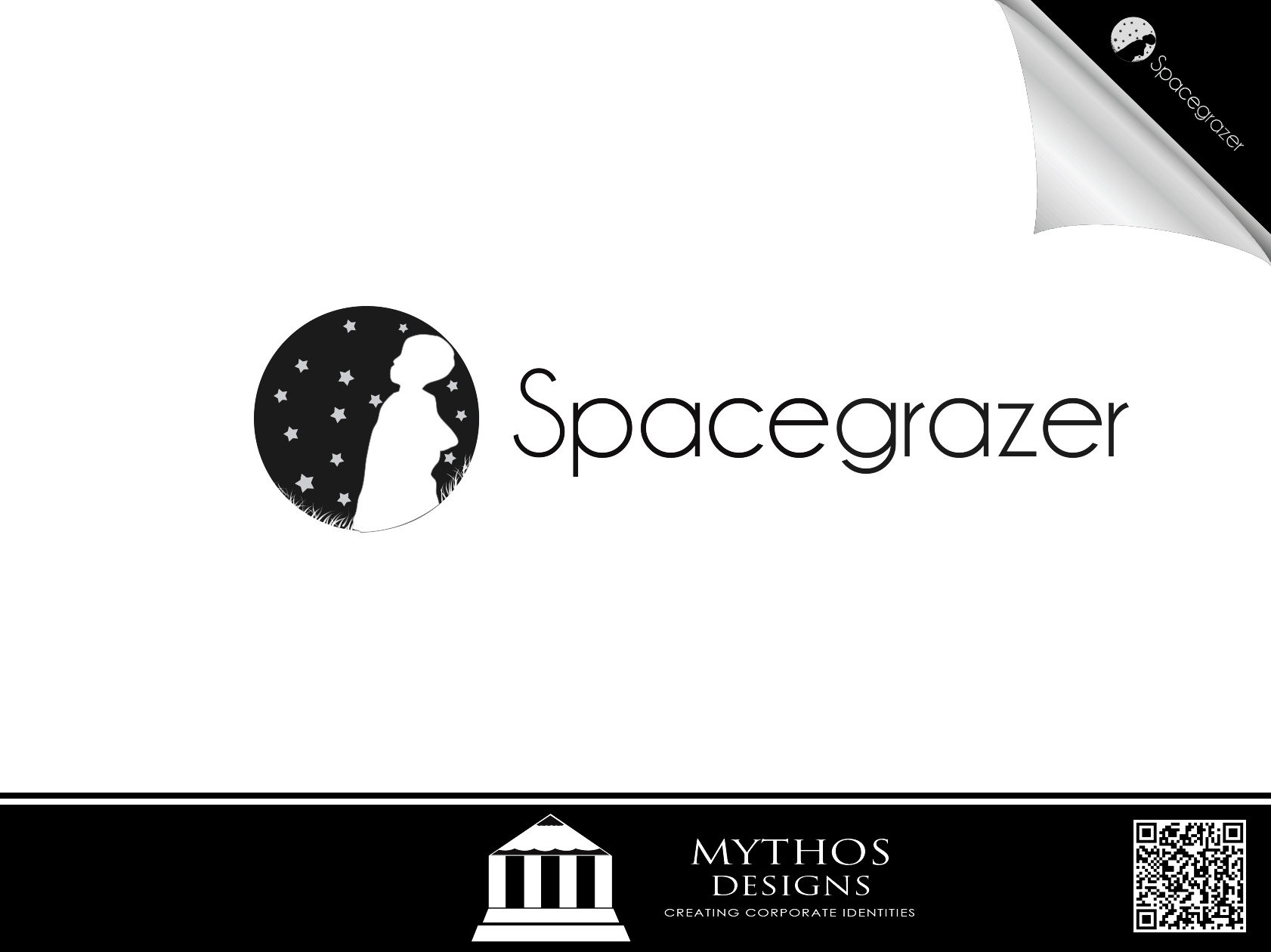 Logo Design by Mythos Designs - Entry No. 64 in the Logo Design Contest Fun Logo Design for Spacegrazer.
