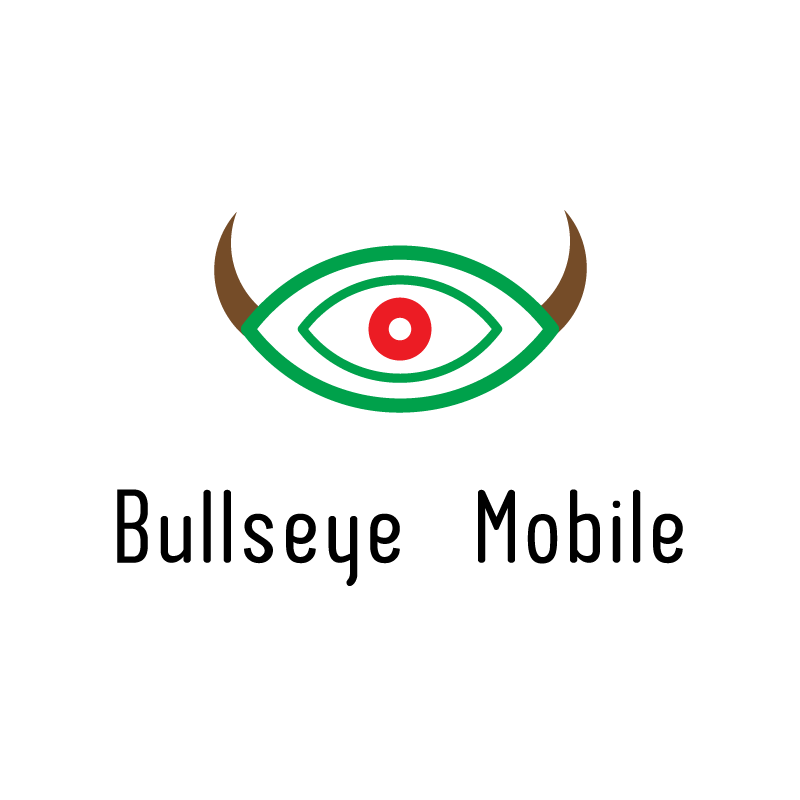 Logo Design by rei - Entry No. 142 in the Logo Design Contest Bullseye Mobile.
