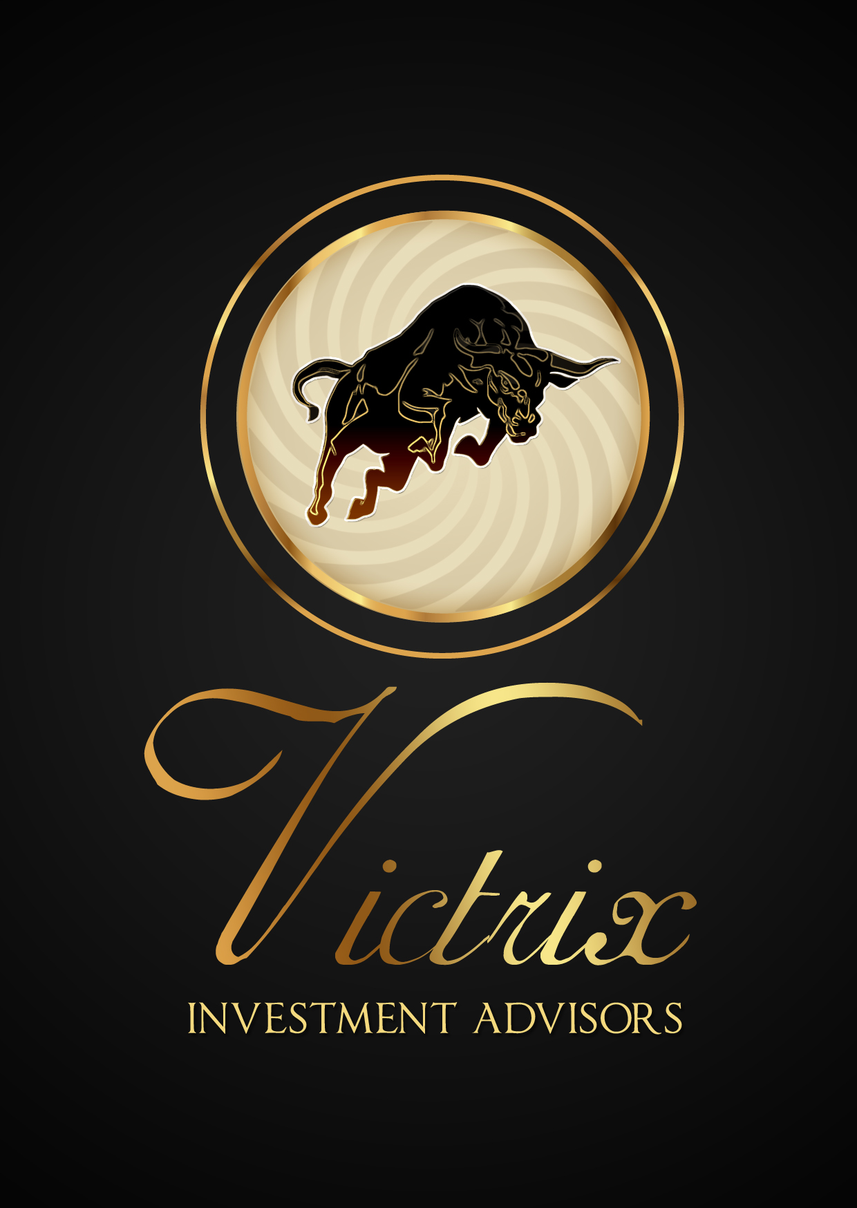 Logo Design by Private User - Entry No. 82 in the Logo Design Contest Inspiring Logo Design for Victrix Investment Advisors.