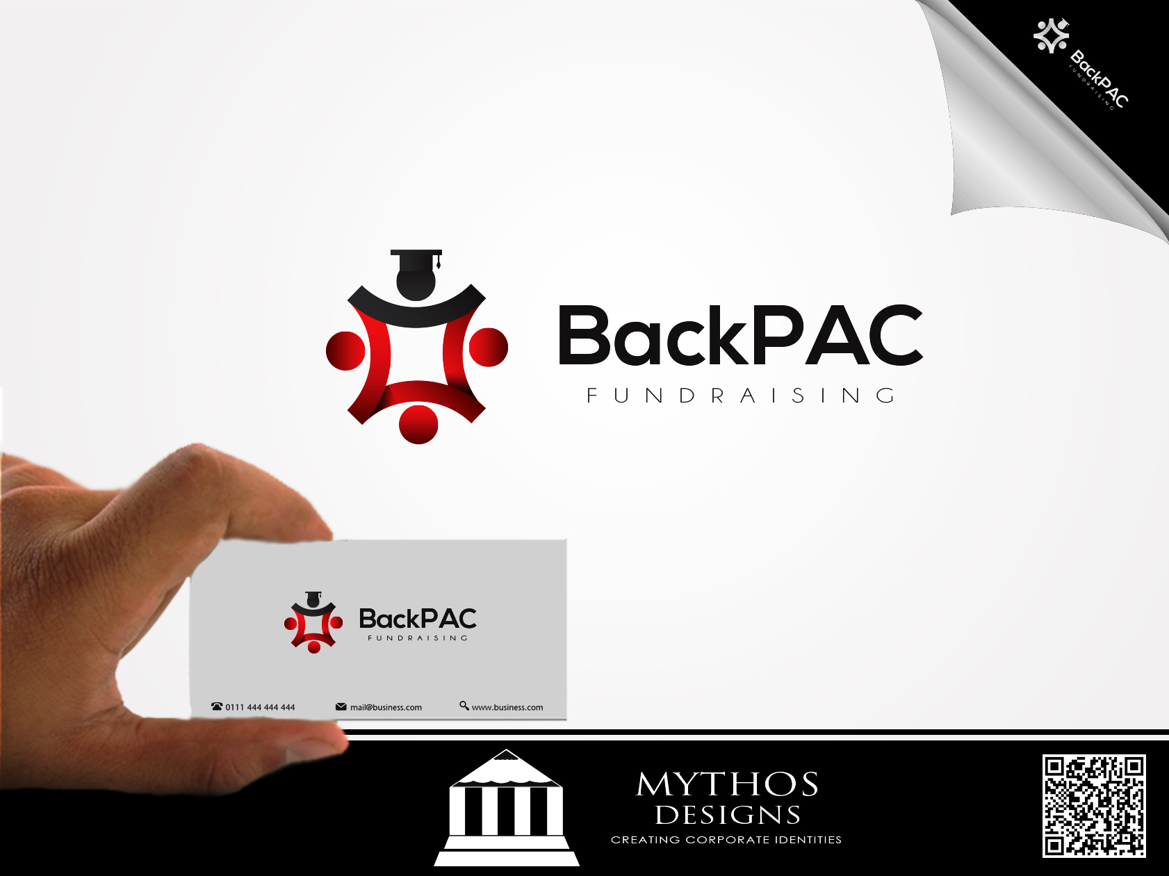 Logo Design by Mythos Designs - Entry No. 3 in the Logo Design Contest Imaginative Logo Design for BackPAC Fundraising.