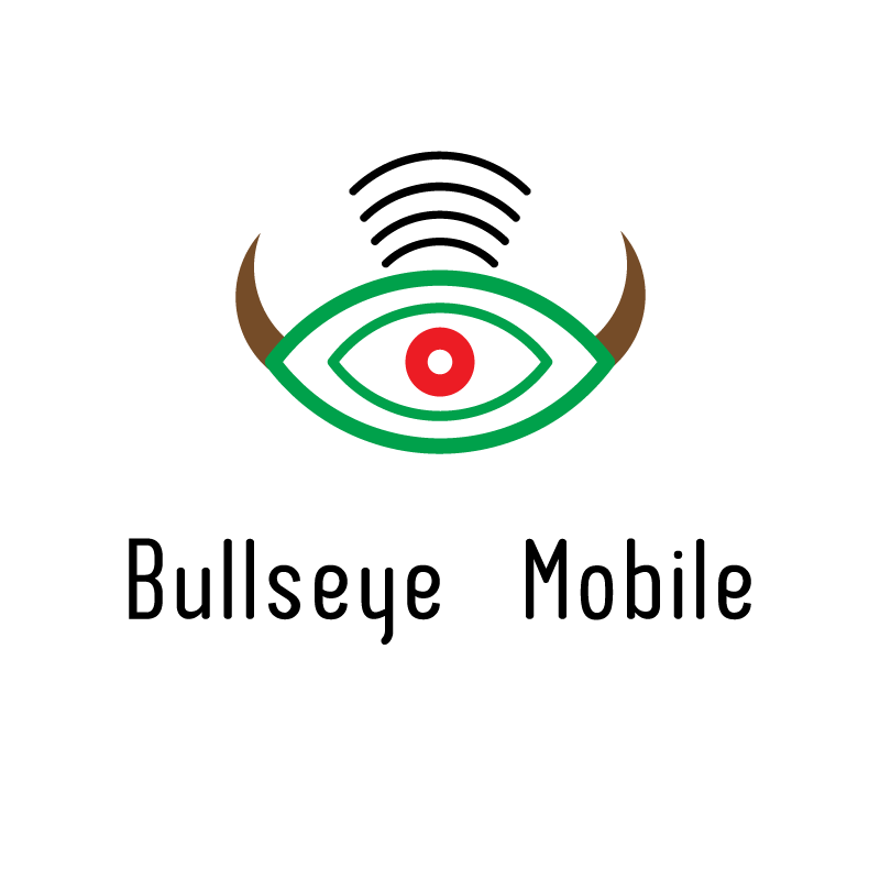 Logo Design by rei - Entry No. 143 in the Logo Design Contest Bullseye Mobile.