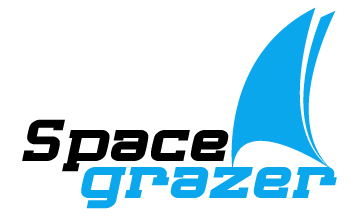 Logo Design by Mobin Asghar - Entry No. 67 in the Logo Design Contest Fun Logo Design for Spacegrazer.