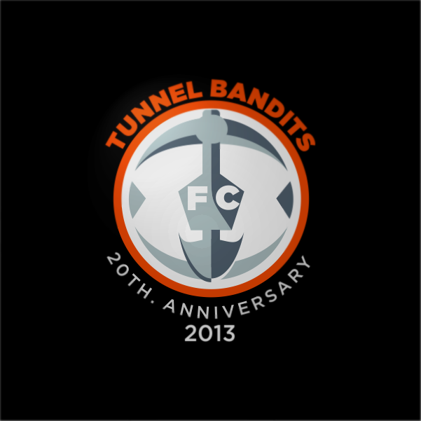 Logo Design by Private User - Entry No. 29 in the Logo Design Contest Tunnel Bandits Football Club (TBFC) Logo Design.