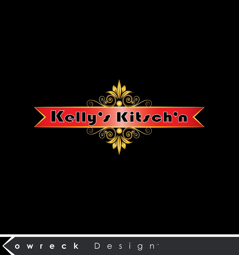 Logo Design by kowreck - Entry No. 78 in the Logo Design Contest Unique Logo Design Wanted for Kelly's Kitsch'n.
