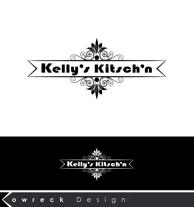 Logo Design by kowreck - Entry No. 79 in the Logo Design Contest Unique Logo Design Wanted for Kelly's Kitsch'n.